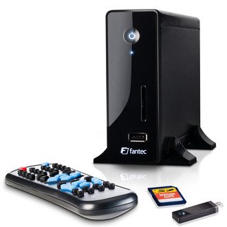 Fantec MM-CH36US Черный медиаплеер