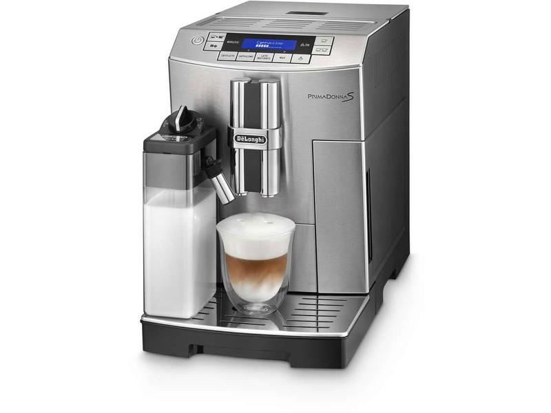 DeLonghi PrimaDonna S Отдельностоящий Espresso machine 1.8л Нержавеющая сталь