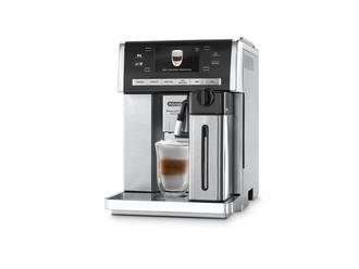 DeLonghi PrimaDonna Exclusive ESAM 6900.M Отдельностоящий Автоматическая Espresso machine 1.4л Черный, Cеребряный