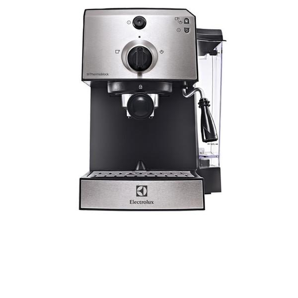 Electrolux EEA111 Espresso machine 1.25л 1чашек Черный, Нержавеющая сталь кофеварка