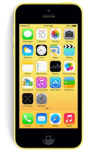 Apple iPhone 5c Одна SIM-карта 4G 8ГБ Желтый