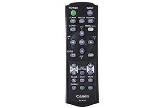 Canon RS-RC06 Инфракрасный беспроводной Нажимные кнопки Черный пульт дистанционного управления