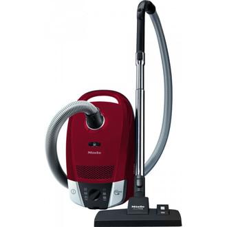 Miele Compact C2 EcoLine Цилиндрический пылесос 3.5л 800Вт B Красный