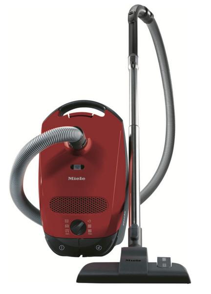 Miele Classic C1 EcoLine Цилиндрический пылесос 4.5л 800Вт B Красный