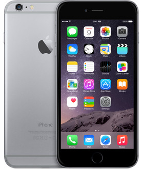 Apple iPhone 6 Plus Одна SIM-карта 4G 64ГБ Серый