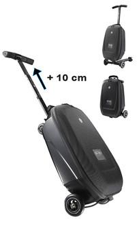 Micro Mobility Micro Luggage II На колесиках Черный