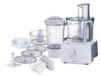 Kenwood Electronics FDP613WH 1000Вт 3л Серый, Белый кухонная комбайн