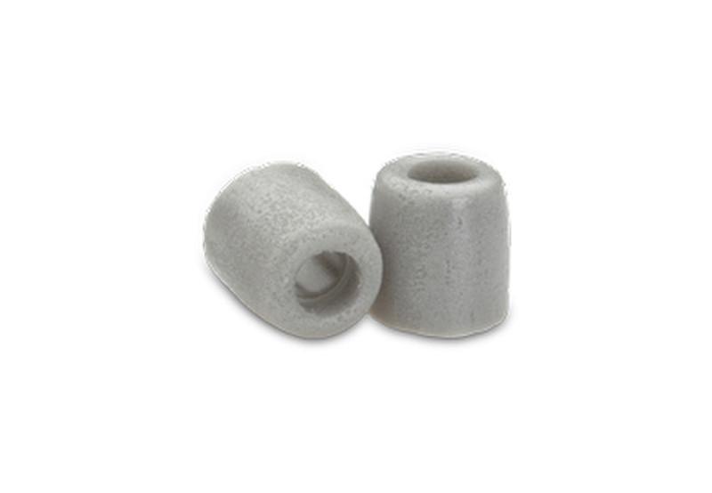 Comply T-400 Полиуретан, Термопластичный эластомер (TPE) Платиновый 6шт подушечки для наушников
