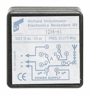 Hirschmann 606700905 AV ресивер