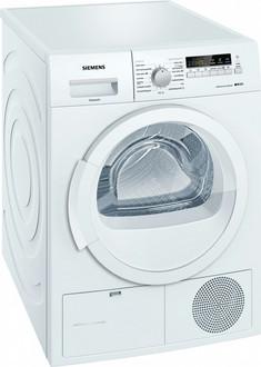 Siemens WT45W230EE Отдельностоящий Фронтальная загрузка 8кг A++ Белый сушилка для белья