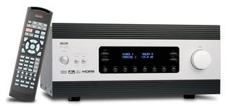 Adcom GFR-700HD 5.0канала Черный, Cеребряный AV ресивер