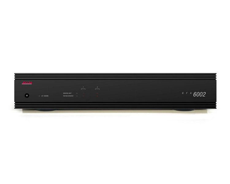 Adcom GFA-6002 2.0канала Черный AV ресивер