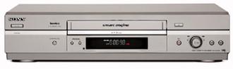 Sony Video Stereo SLV-SE740DS Cеребряный кассетный видеомагнитофон/плеер