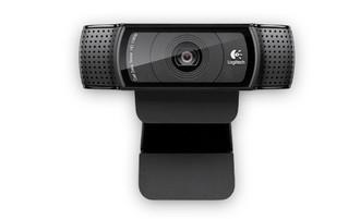 Logitech C920 15МП 1920 x 1080пикселей USB 2.0 Черный вебкамера