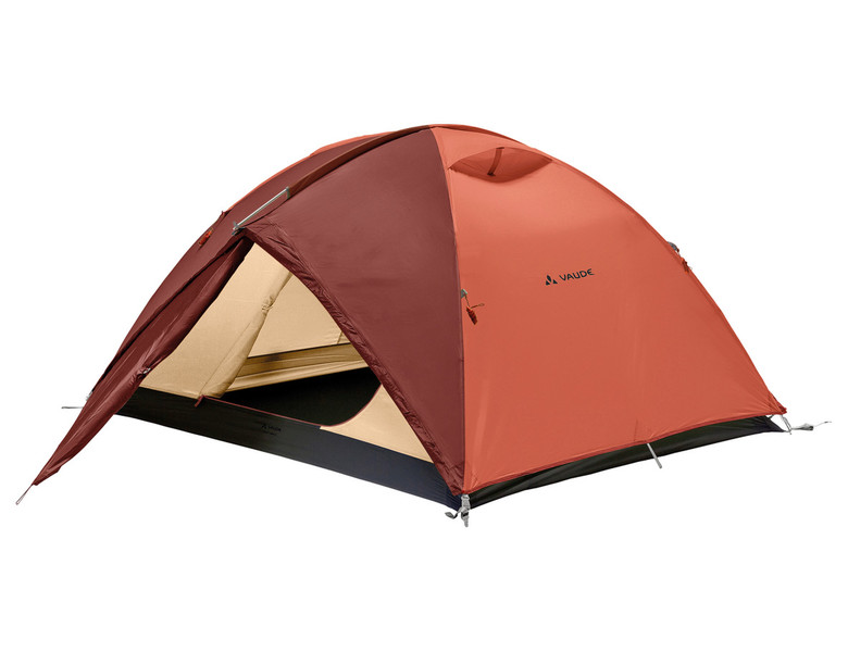 VAUDE Campo 3P Dome/Igloo tent Терракотовый