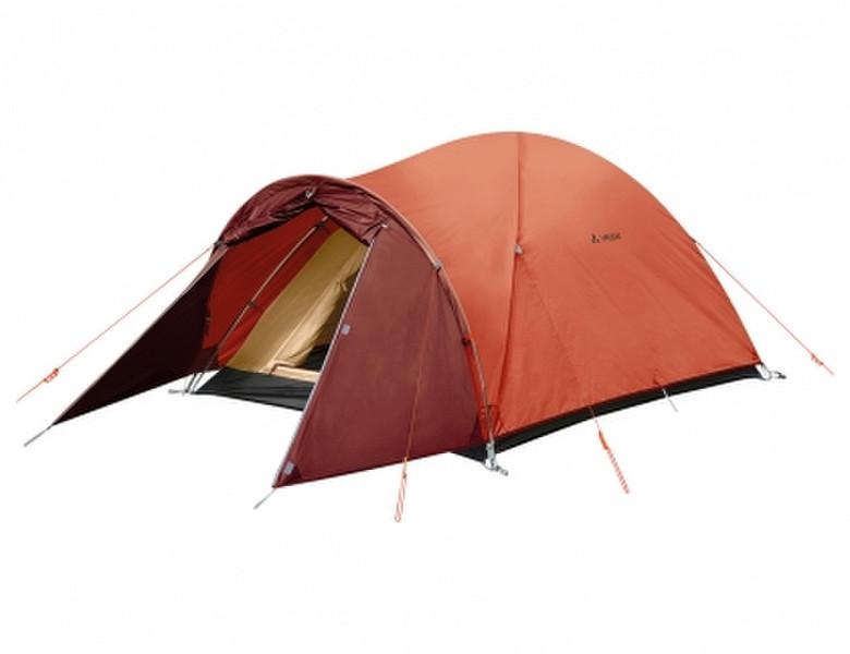 VAUDE Campo Compact XT 2P Dome/Igloo tent Терракотовый