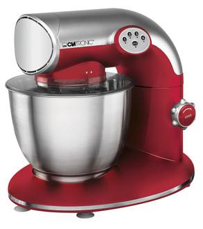 Clatronic KM 3632 1200Вт 5.6л Красный, Нержавеющая сталь кухонная комбайн