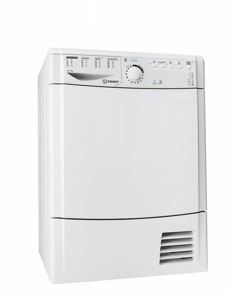 Indesit EDPA 745 A1 ECO (EU) Отдельностоящий Фронтальная загрузка 7кг A+ Белый сушилка для белья