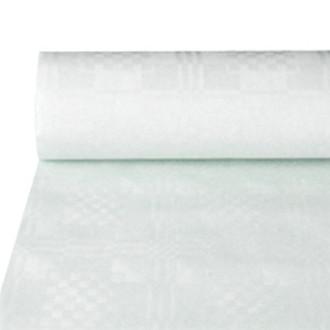 Papstar 12542 Прямоугольный Бумага Белый одноразовая скатерть