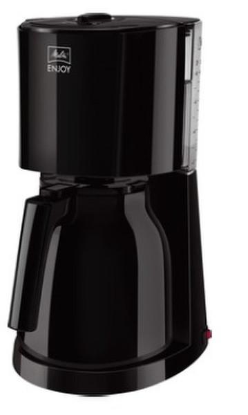 Melitta 1017-06 Капельная кофеварка 8чашек Черный кофеварка