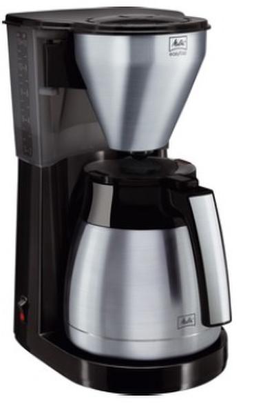 Melitta 1010-11 Капельная кофеварка 10чашек Черный, Нержавеющая сталь кофеварка