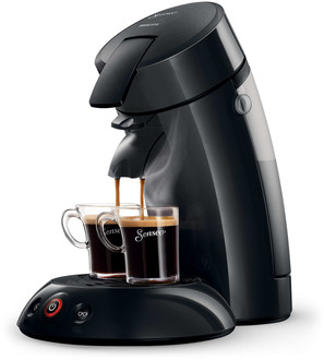 Philips Senseo HD7817 Отдельностоящий Капсульная кофеварка 0.7л 5чашек Черный