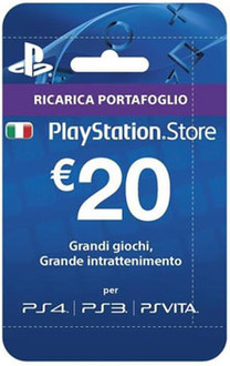 Sony Playstation Live Cards Hang 20 Euro