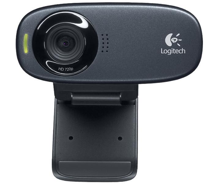 Logitech C310 5МП 1280 x 720пикселей USB Черный