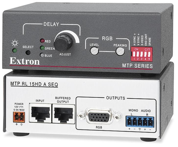 Extron MTP RL 15HD A SEQ Стерео Черный