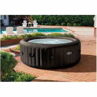 Intex 28422 795л 4person(s) Круглый Черный outdoor hot tub & spa