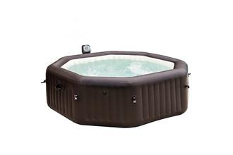 Intex 28436 1098л 6person(s) Круглый Коричневый outdoor hot tub & spa
