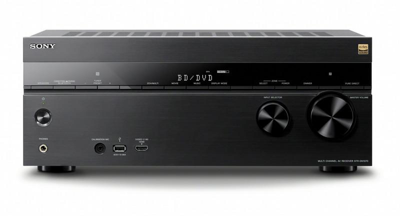 Sony STR-DN1070 7.2 Surround 3D Черный AV ресивер