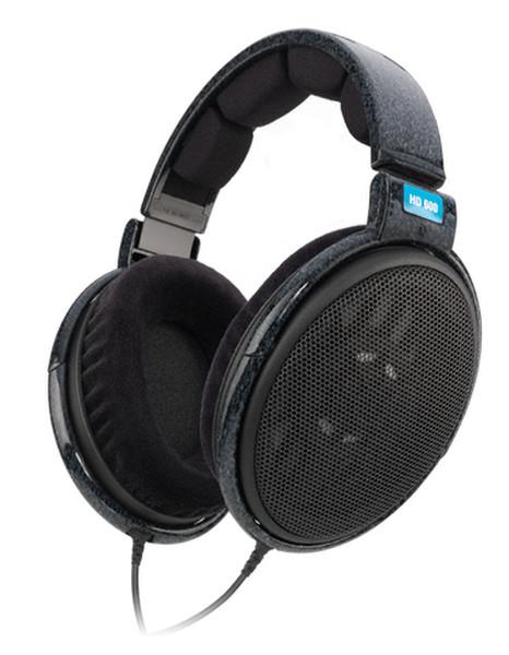 Sennheiser HD 600 Черный Накладные Оголовье наушники