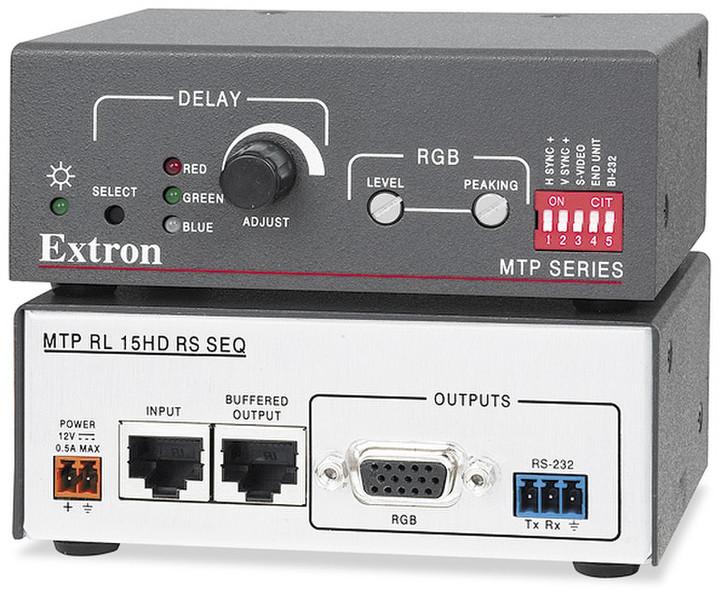 Extron MTP RL 15HD RS SEQ Стерео Черный