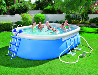 ᐈ Bestway Steel Pro Frame Pool 4 88m X 3 05m X 1 07m Kaufen Preis