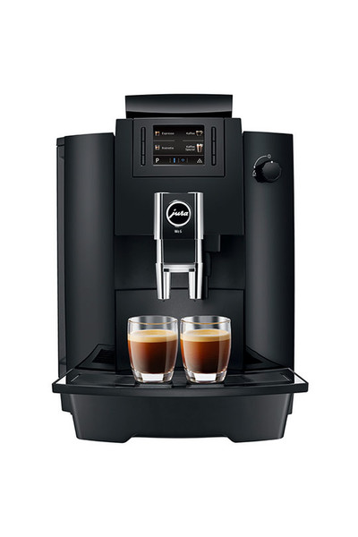 Jura WE6 Отдельностоящий Автоматическая Капсульная кофеварка 3л 2чашек Черный