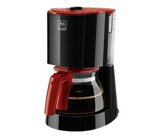 Melitta ENJOY Капельная кофеварка 15чашек Черный, Красный