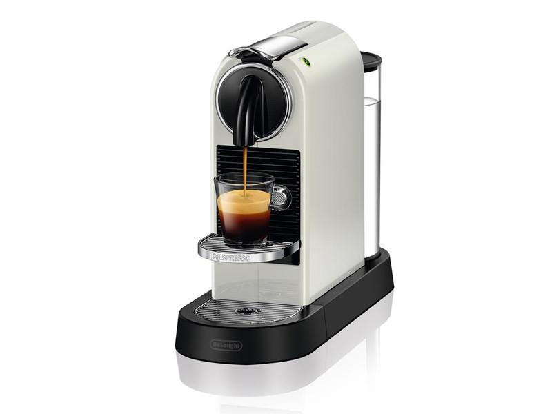DeLonghi Citiz EN 167.W Отдельностоящий Автоматическая Капсульная кофеварка 1л Белый