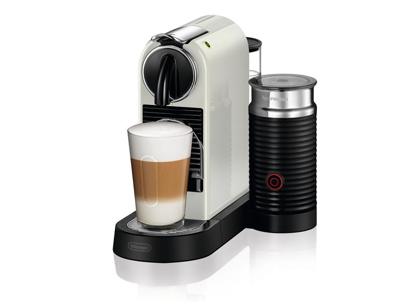 DeLonghi EN 267.WAE Отдельностоящий Капельная кофеварка 1л Белый кофеварка