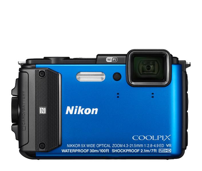 """Nikon COOLPIX AW130 16МП 1/2.3"""" CMOS 4608 x 3456пикселей Черный"""
