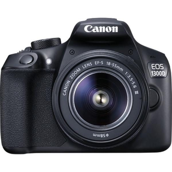 Canon EOS 1300D + EF-S 18-55 IS II 18МП CMOS 5184 x 3456пикселей Черный