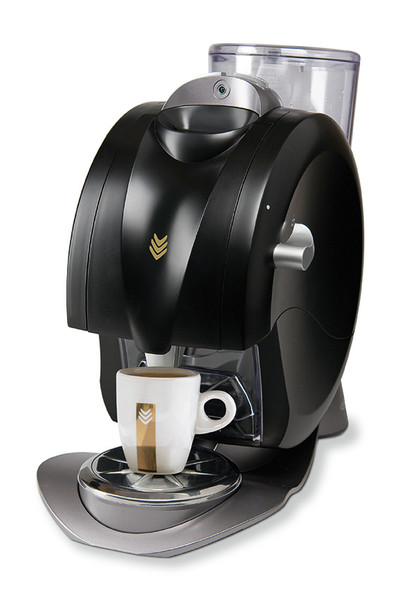 Rombouts Oh! Matic Freestanding Fully-auto Pod coffee machine 1.3L 1cups Black