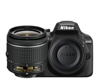 Nikon D3400 + 18-55mm VR + 8GB SD 24.2МП CMOS 6000 x 4000пикселей