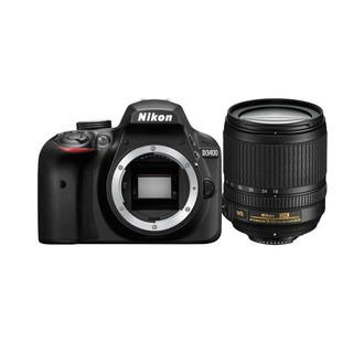 Nikon D3400 + 18-105mm VR + 8GB SD 24.2МП CMOS 6000 x 4000пикселей Черный
