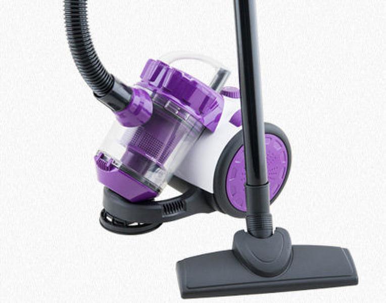 Winkel WS10 Цилиндрический пылесос 1.5л 1000Вт C Пурпурный