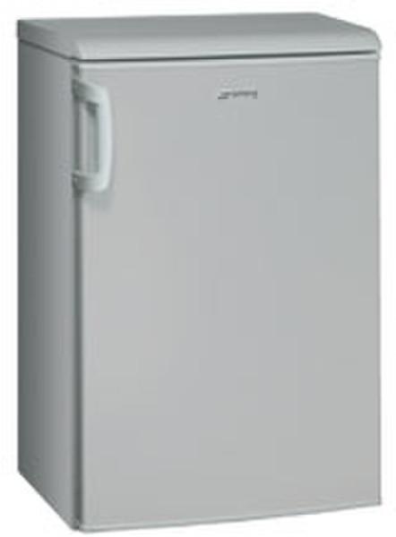 kühlschrank silber mit gefrierfach freistehend