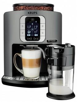 Krups EA860E Отдельностоящий Автоматическая Espresso machine 1.7л 1чашек Cеребряный кофеварка