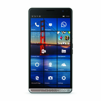 HP Elite x3 Две SIM-карты 4G 64ГБ Хром, Графит смартфон