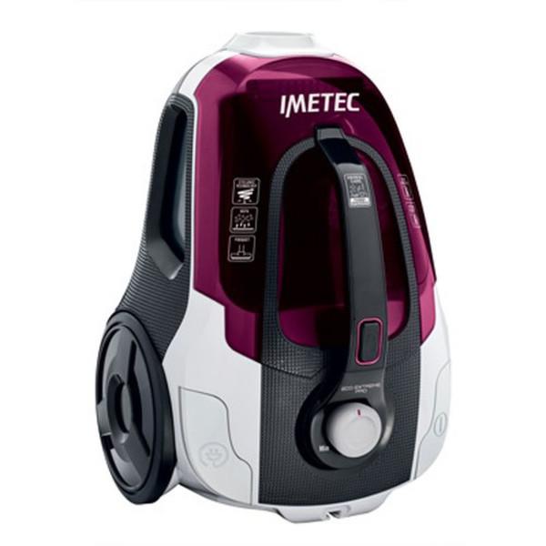 Imetec 8119t Цилиндрический пылесос 2л 800Вт A Серый, Красный, Белый