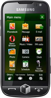 Samsung Omnia GT-I8000 Черный смартфон